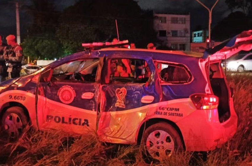 Policial morre em perseguição em Feira de Santana