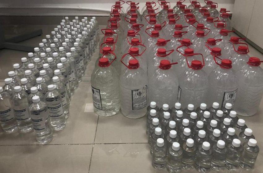 Salvador: Homem é preso com 440 litros de álcool em gel