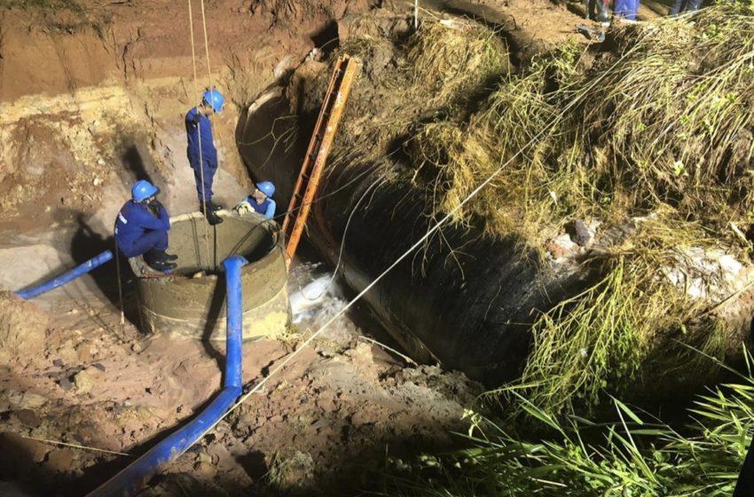 Embasa conclui serviço e abastecimento de água começa a ser retomado