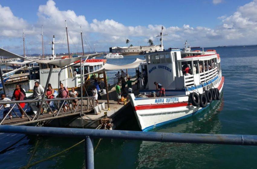 Travessias marítimas para Morro e Vera Cruz serão suspensas