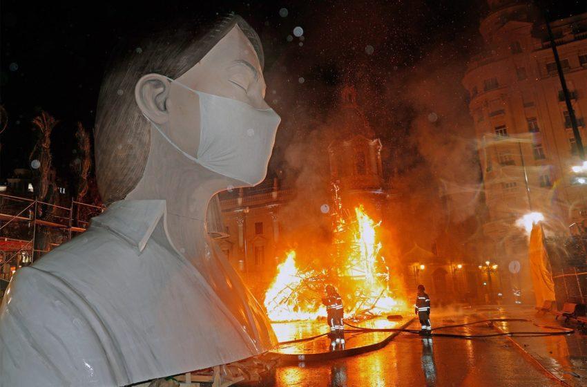 Manifestações artísticas em conscientização do Coronavírus pelo mundo