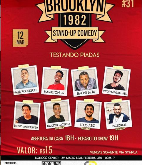 Noite de comédia stand up movimenta Salvador