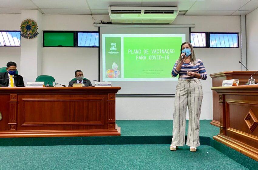 Prefeitura de Simões Filho apresenta Plano de Vacinação contra a COVID-19