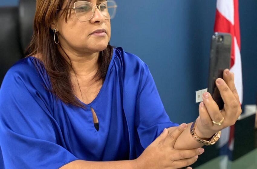 Kátia Oliveira pede a Rui inclusão de trabalhadores do transporte coletivo em grupo prioritário da vacina contra a covid
